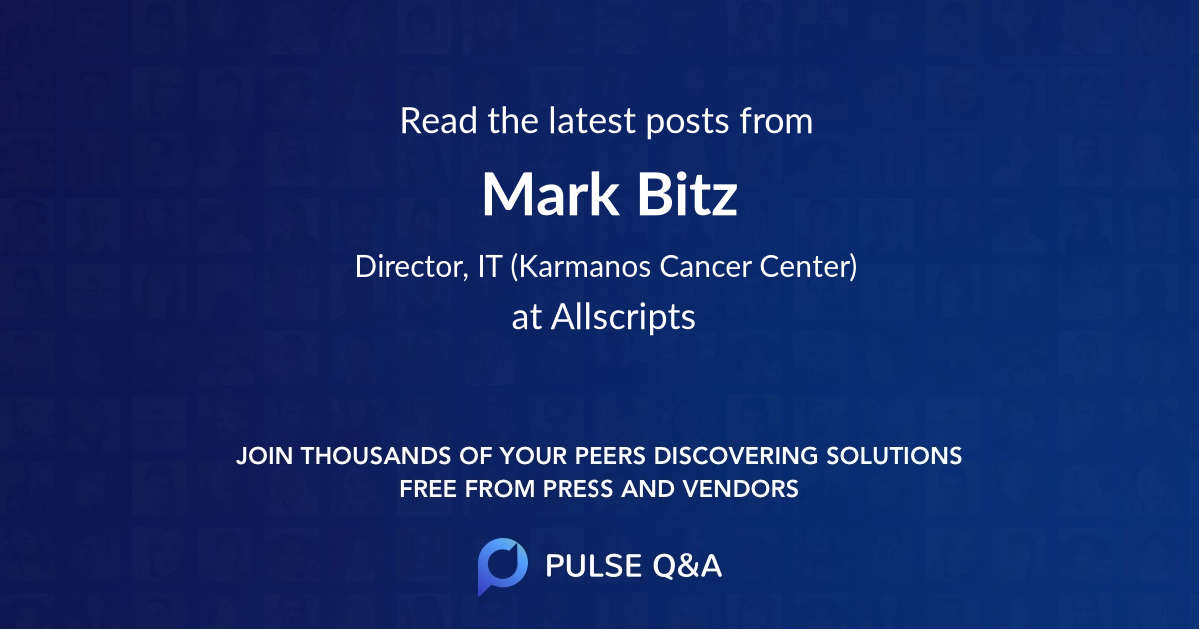 Mark Bitz