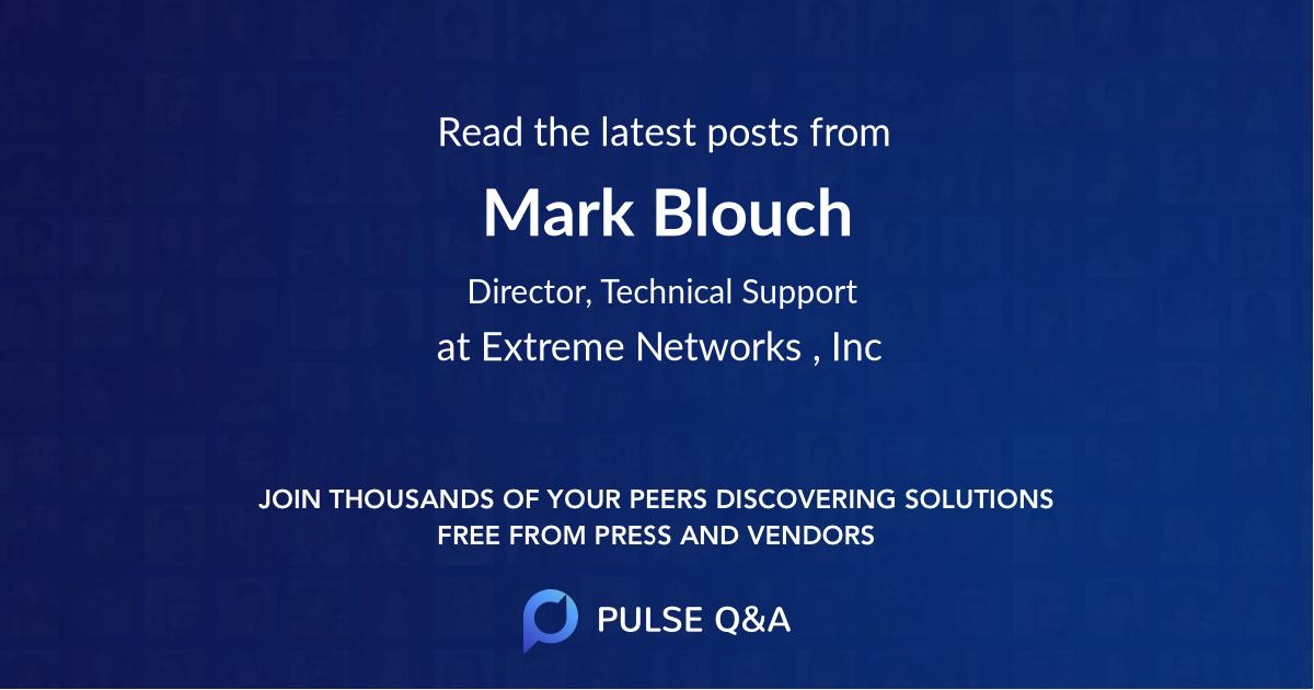 Mark Blouch