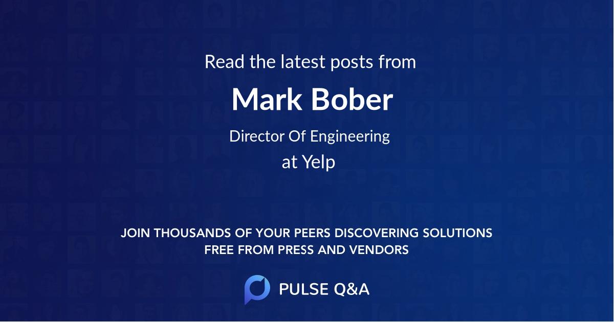 Mark Bober
