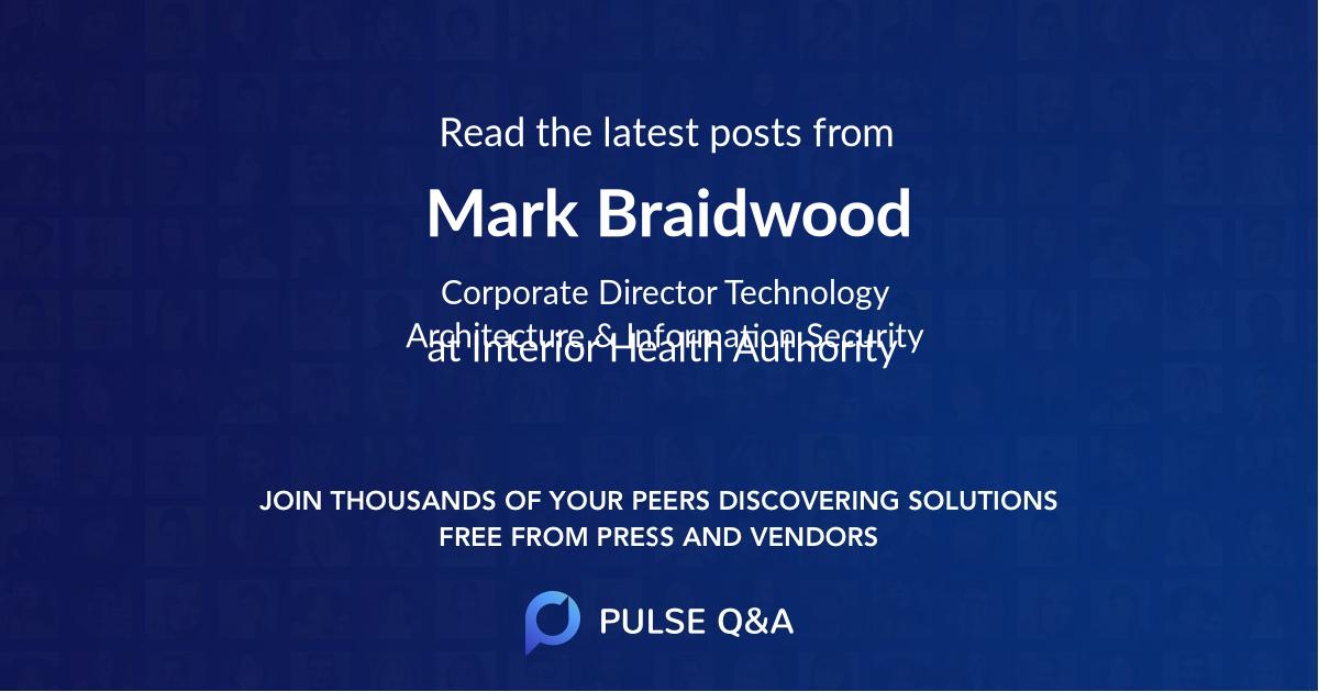 Mark Braidwood
