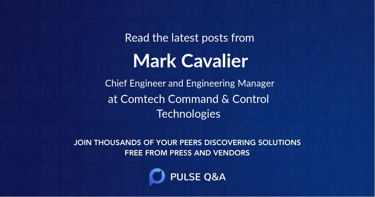 Mark Cavalier