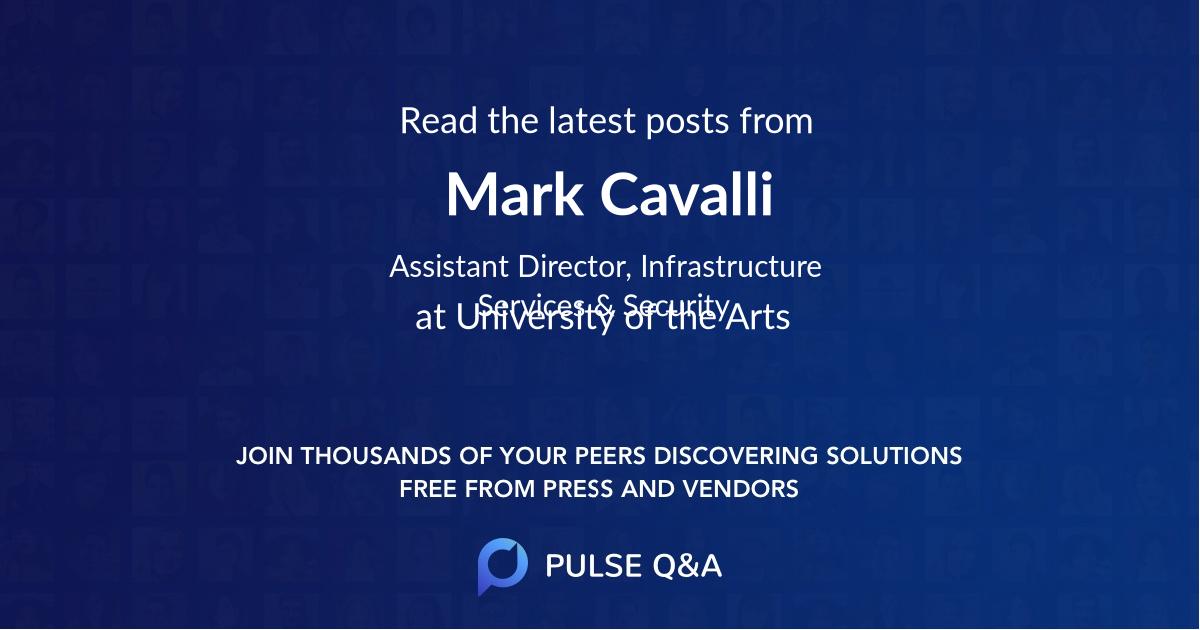 Mark Cavalli