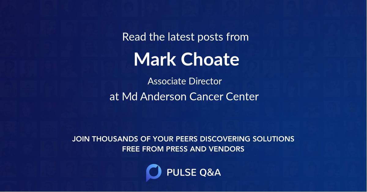 Mark Choate
