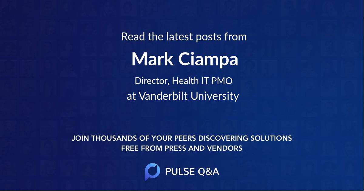 Mark Ciampa