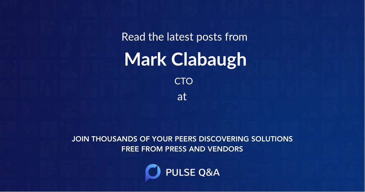 Mark Clabaugh