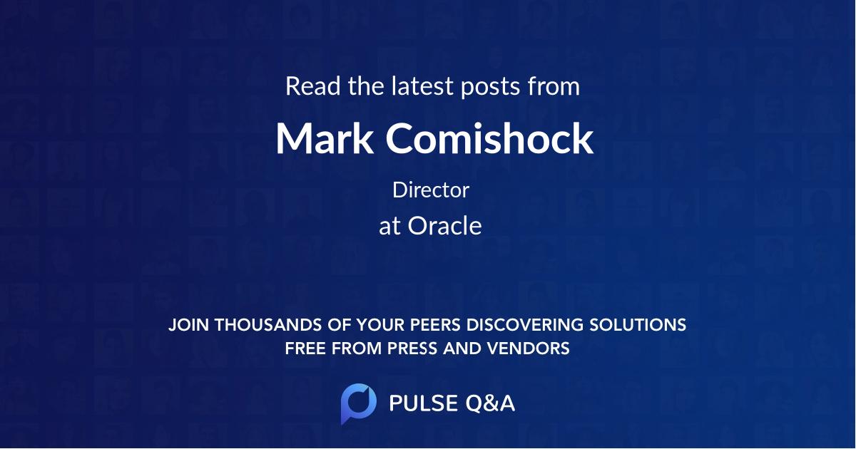 Mark Comishock