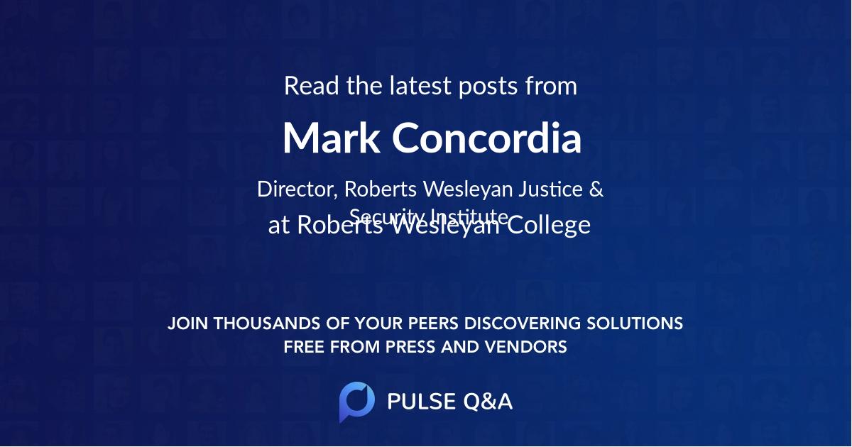 Mark Concordia