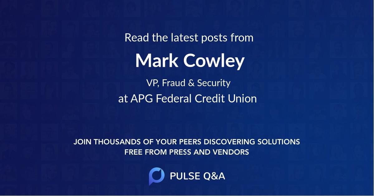 Mark Cowley