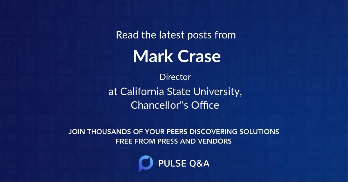Mark Crase