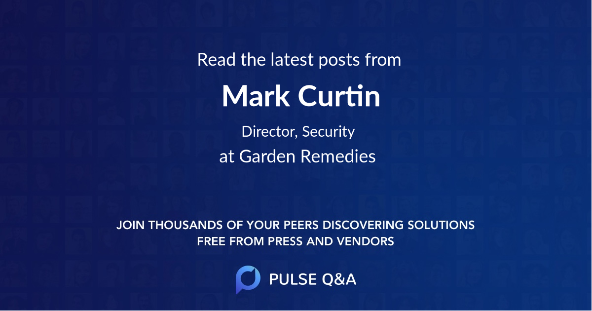 Mark Curtin