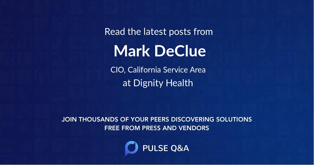 Mark DeClue
