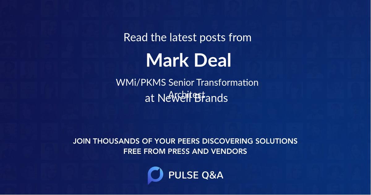 Mark Deal