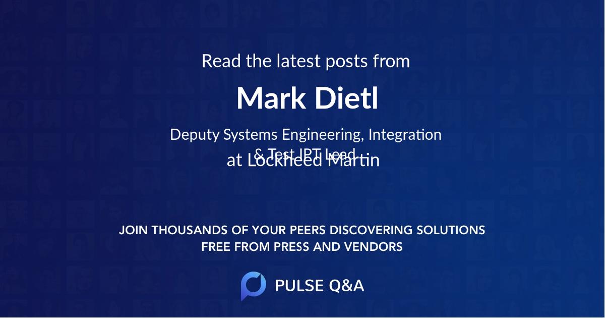 Mark Dietl