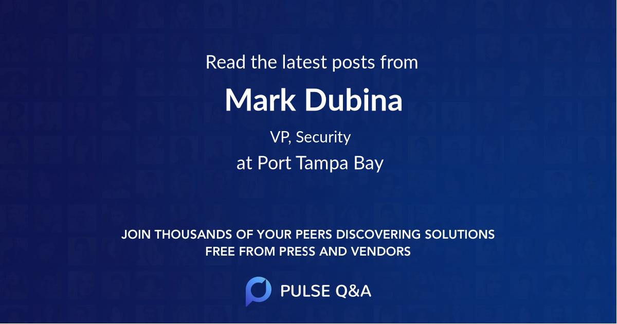 Mark Dubina