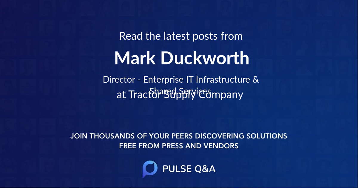 Mark Duckworth