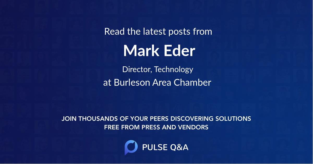 Mark Eder