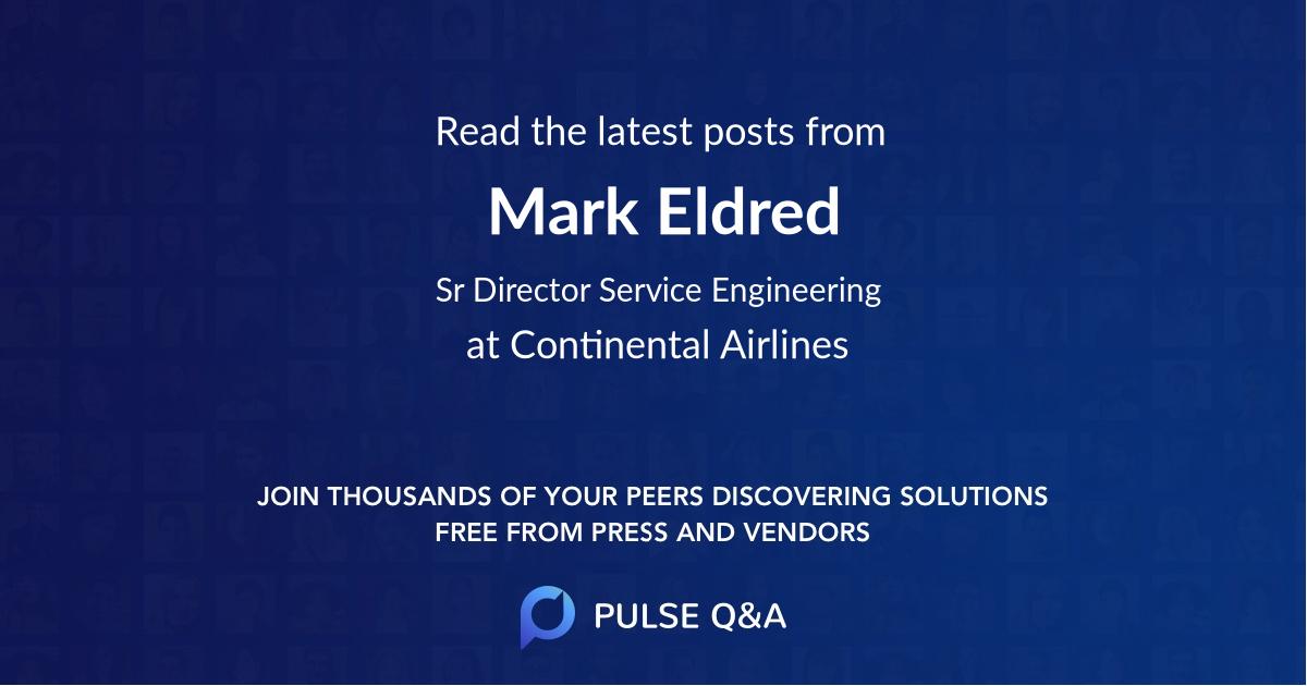Mark Eldred