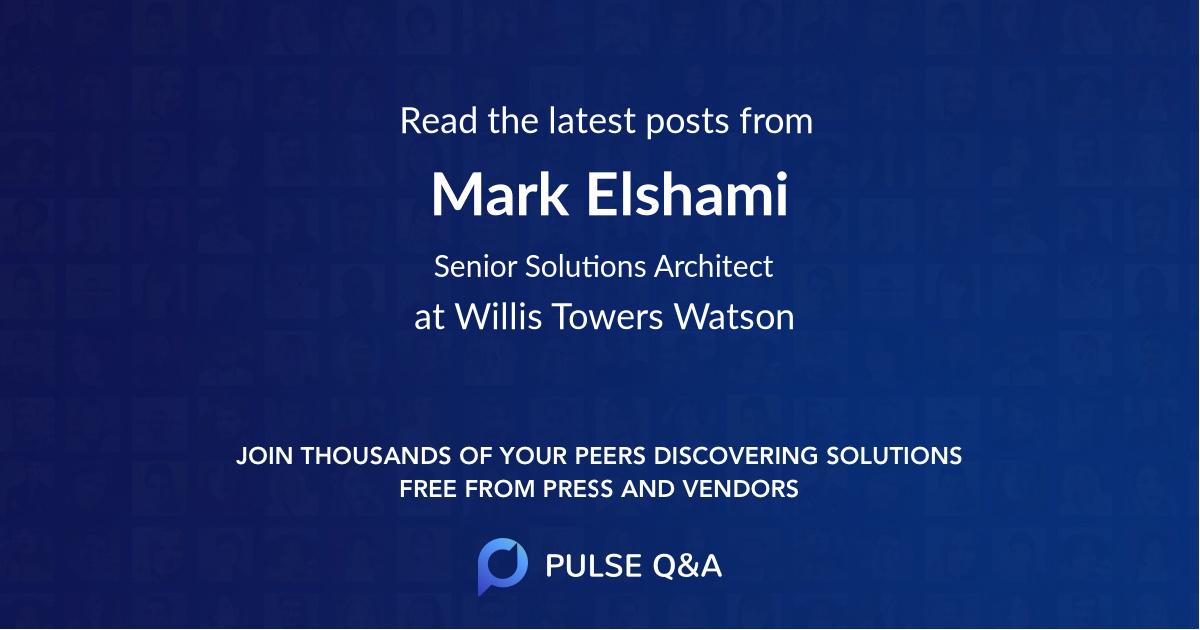 Mark Elshami