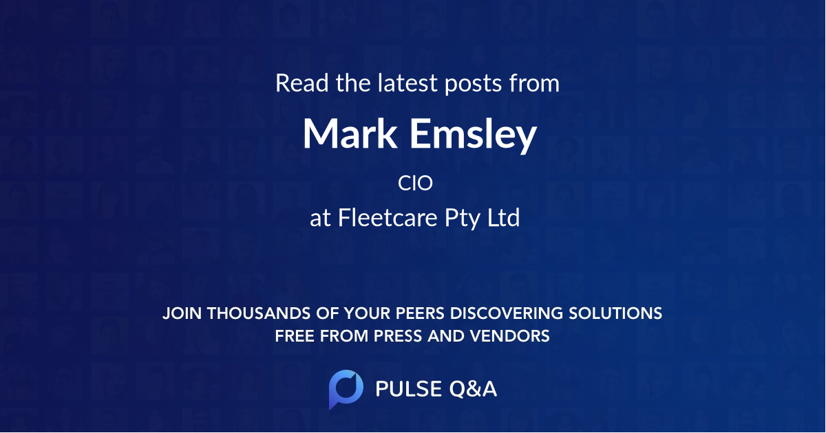 Mark Emsley