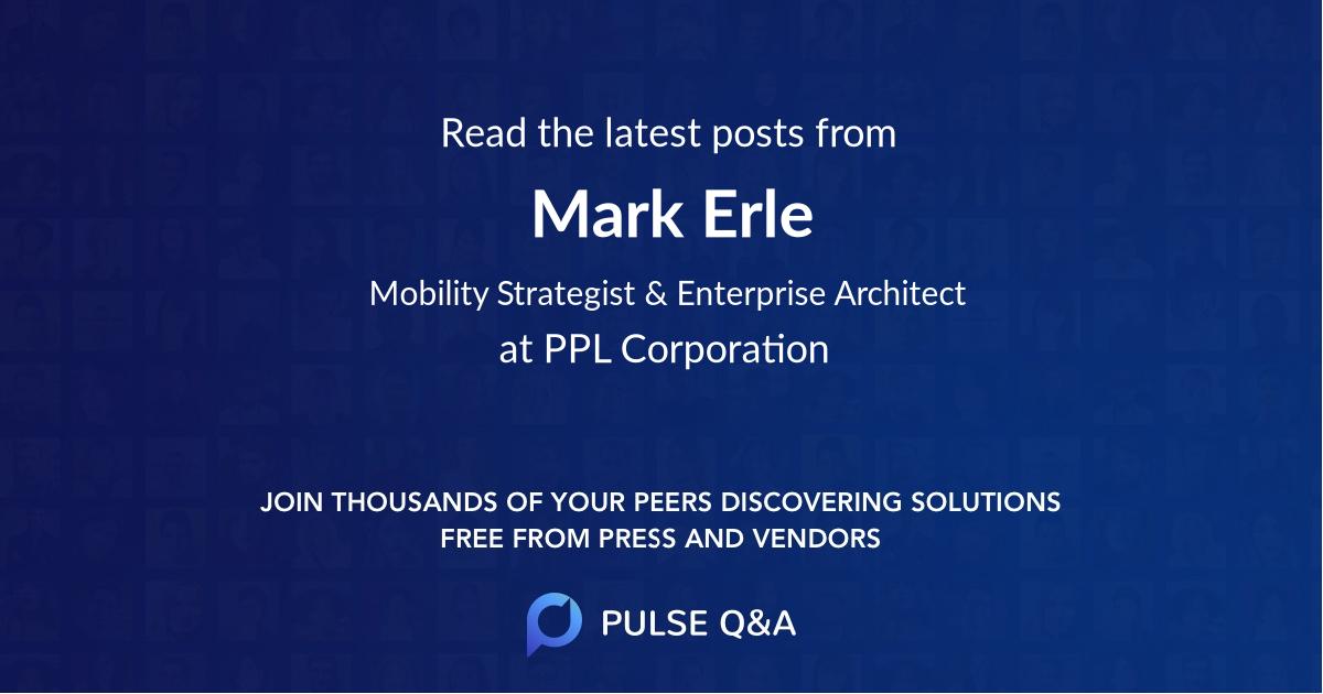 Mark Erle