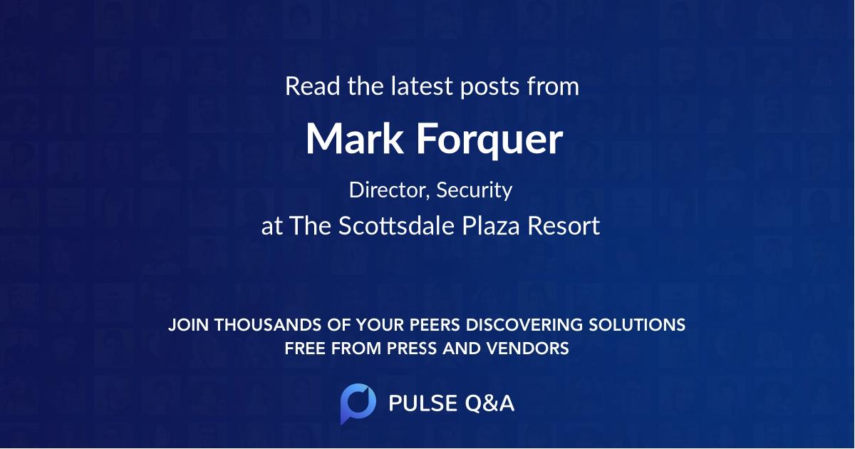 Mark Forquer