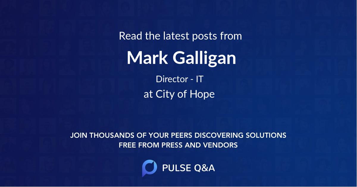 Mark Galligan