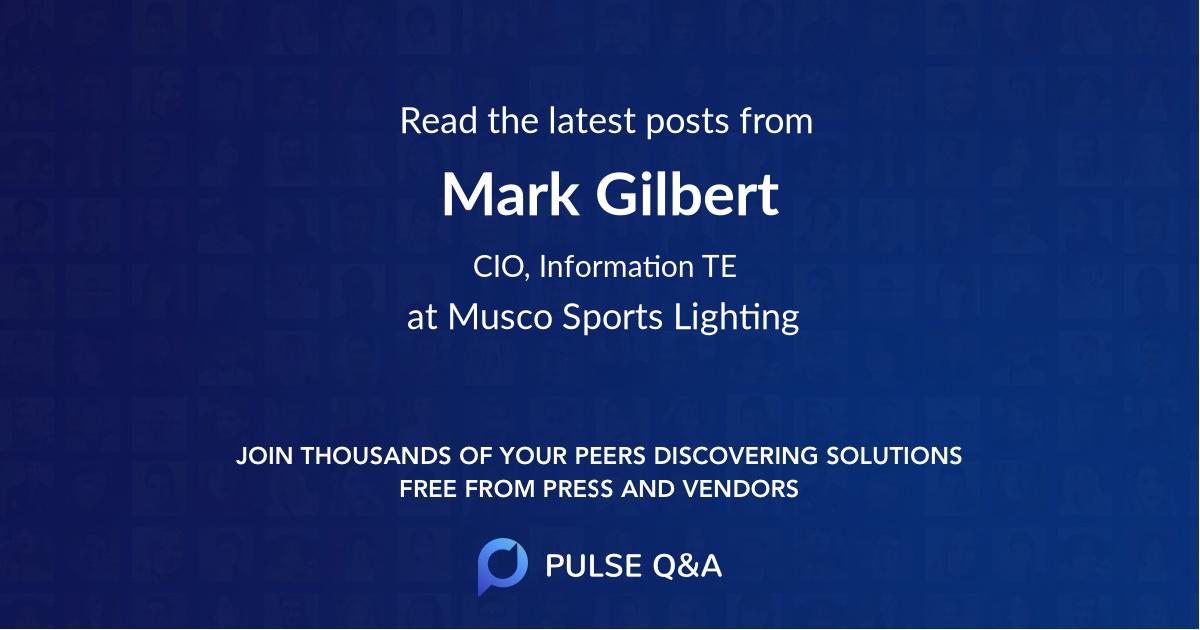 Mark Gilbert