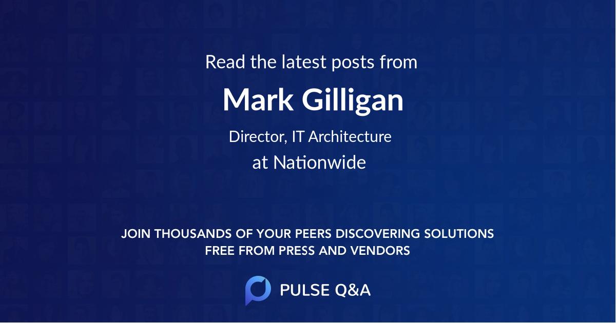 Mark Gilligan
