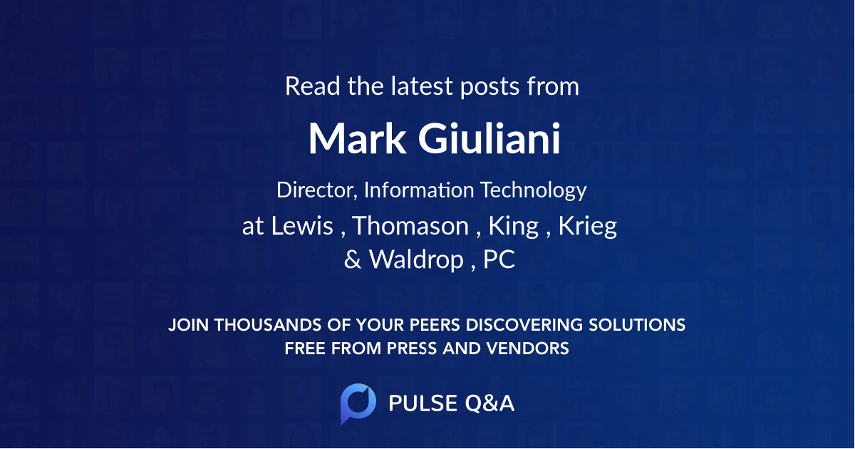 Mark Giuliani
