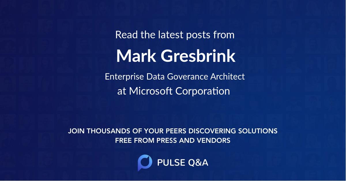 Mark Gresbrink