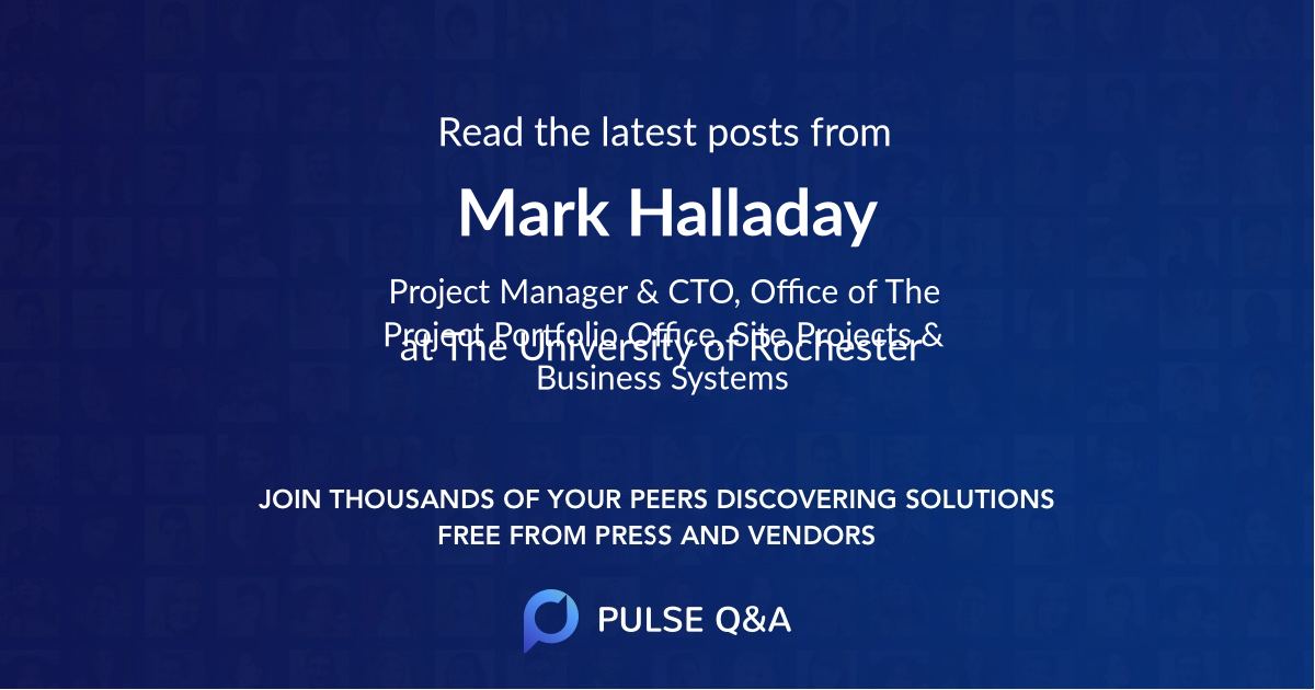 Mark Halladay