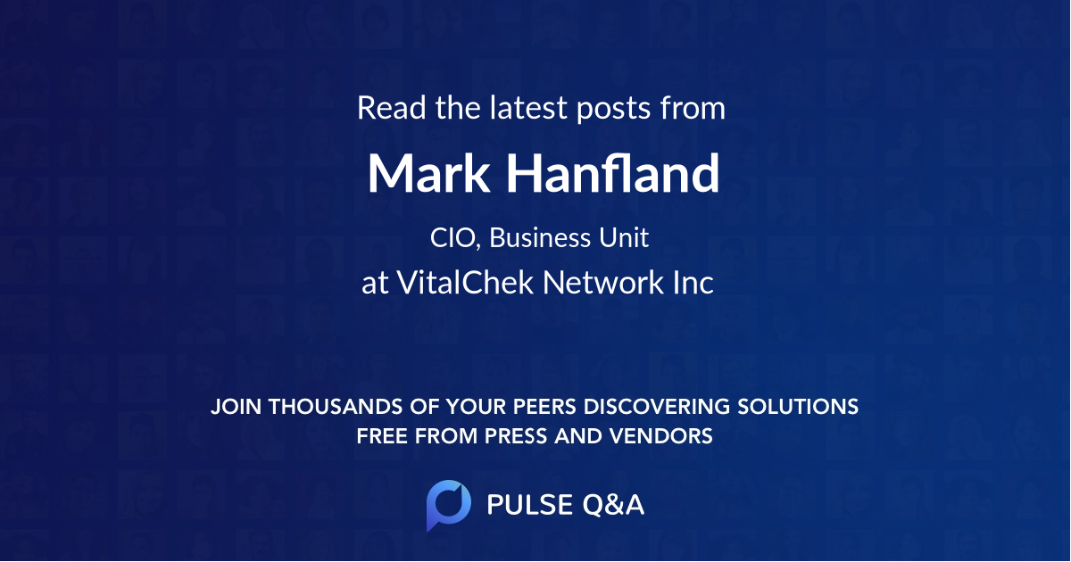 Mark Hanfland
