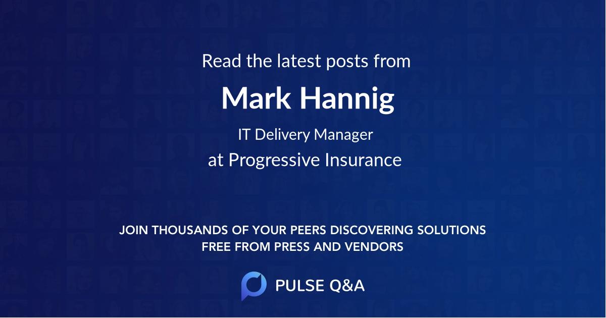 Mark Hannig