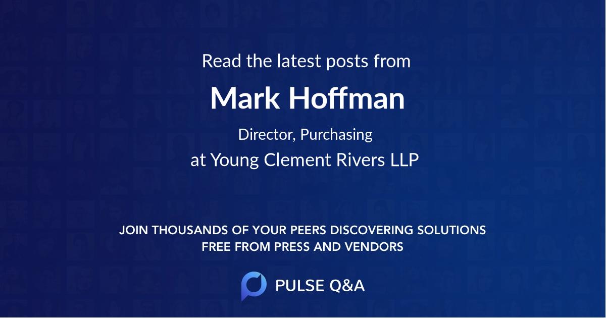 Mark Hoffman