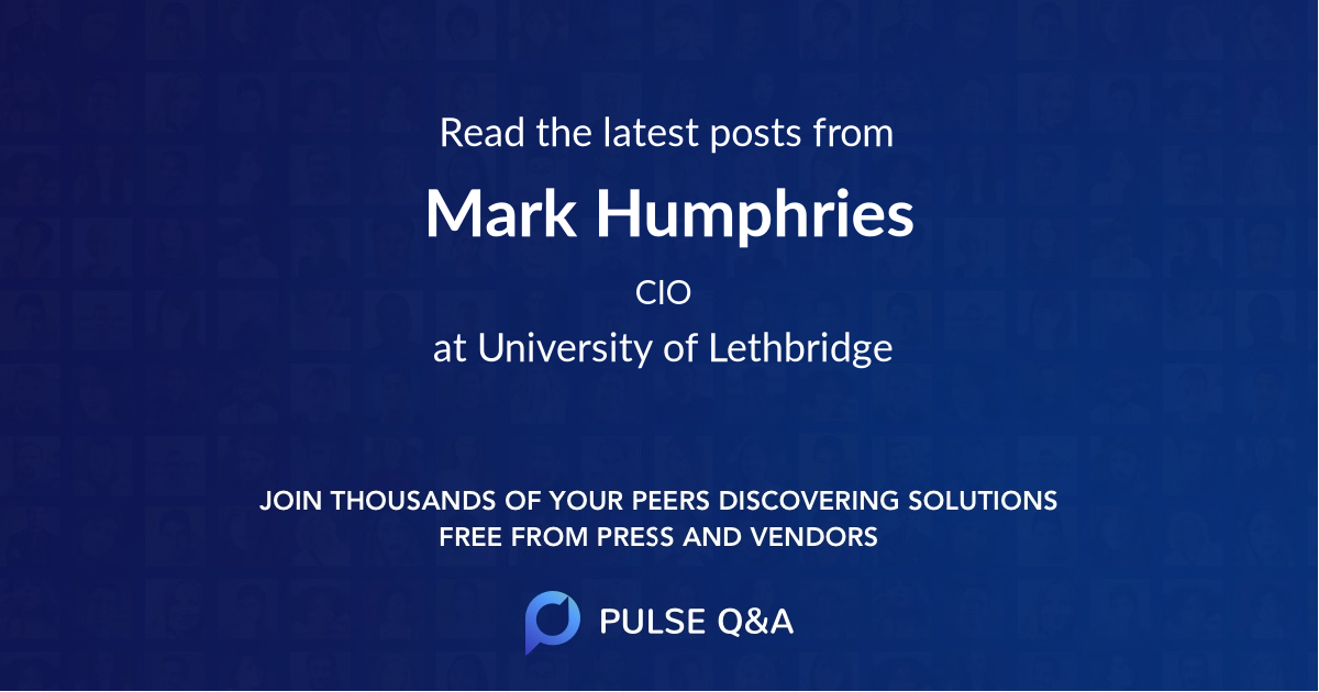 Mark Humphries