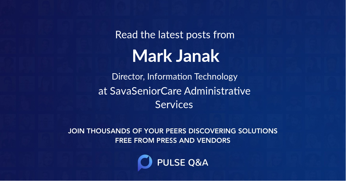 Mark Janak
