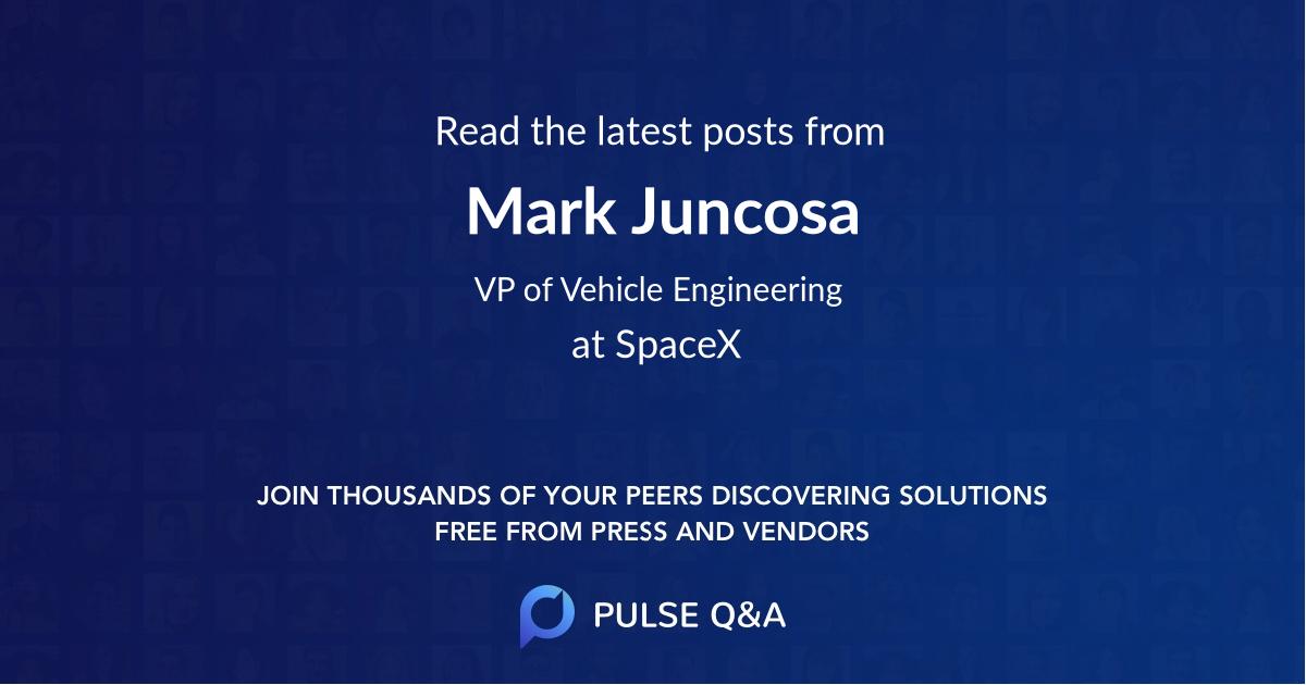 Mark Juncosa