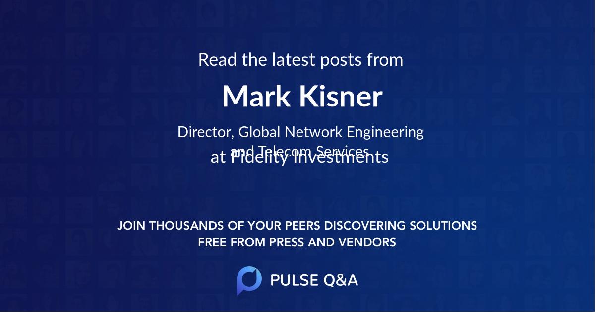 Mark Kisner