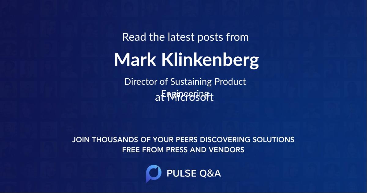 Mark Klinkenberg
