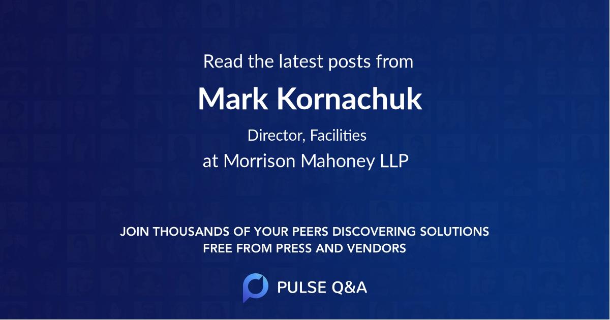 Mark Kornachuk