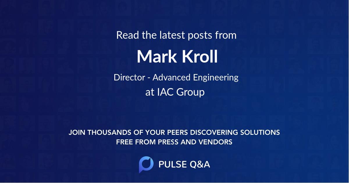 Mark Kroll