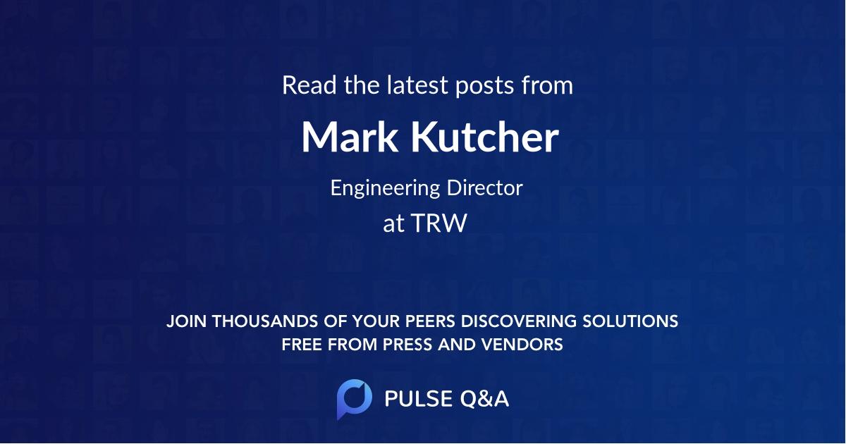 Mark Kutcher