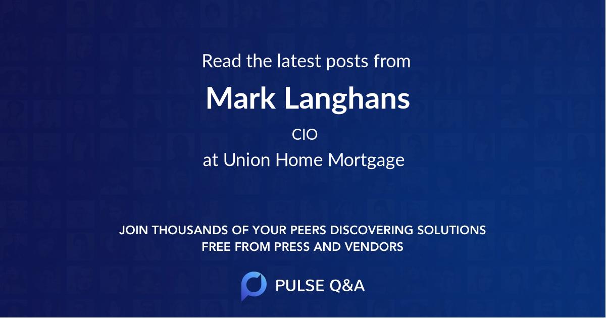 Mark Langhans