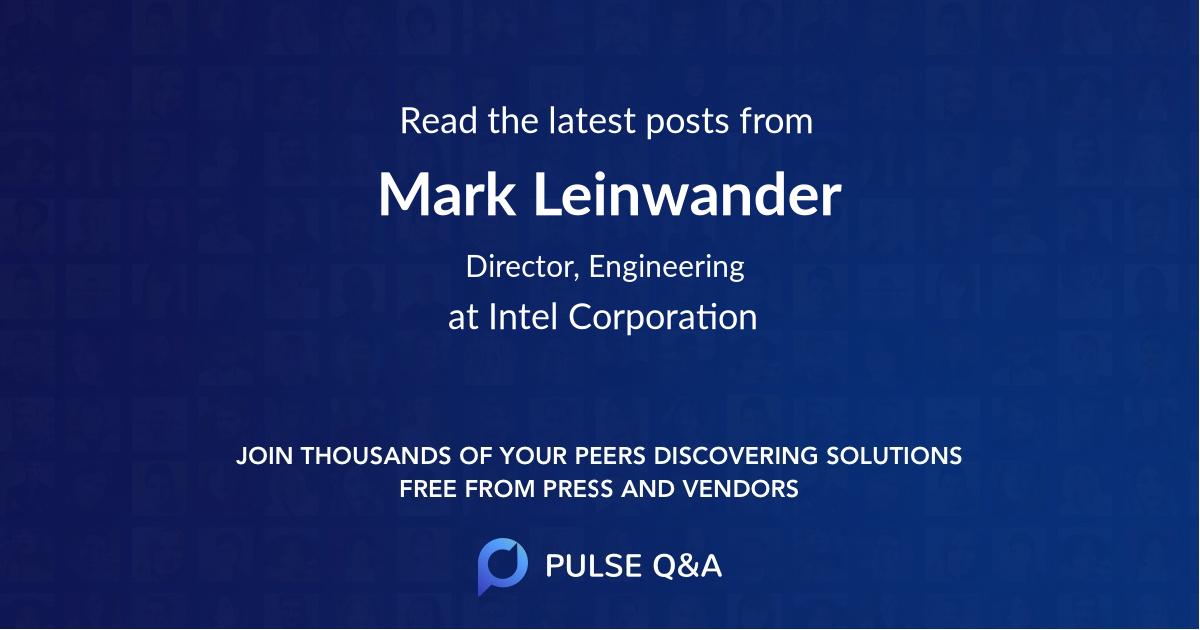 Mark Leinwander