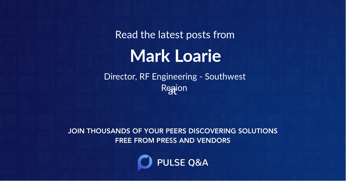 Mark Loarie