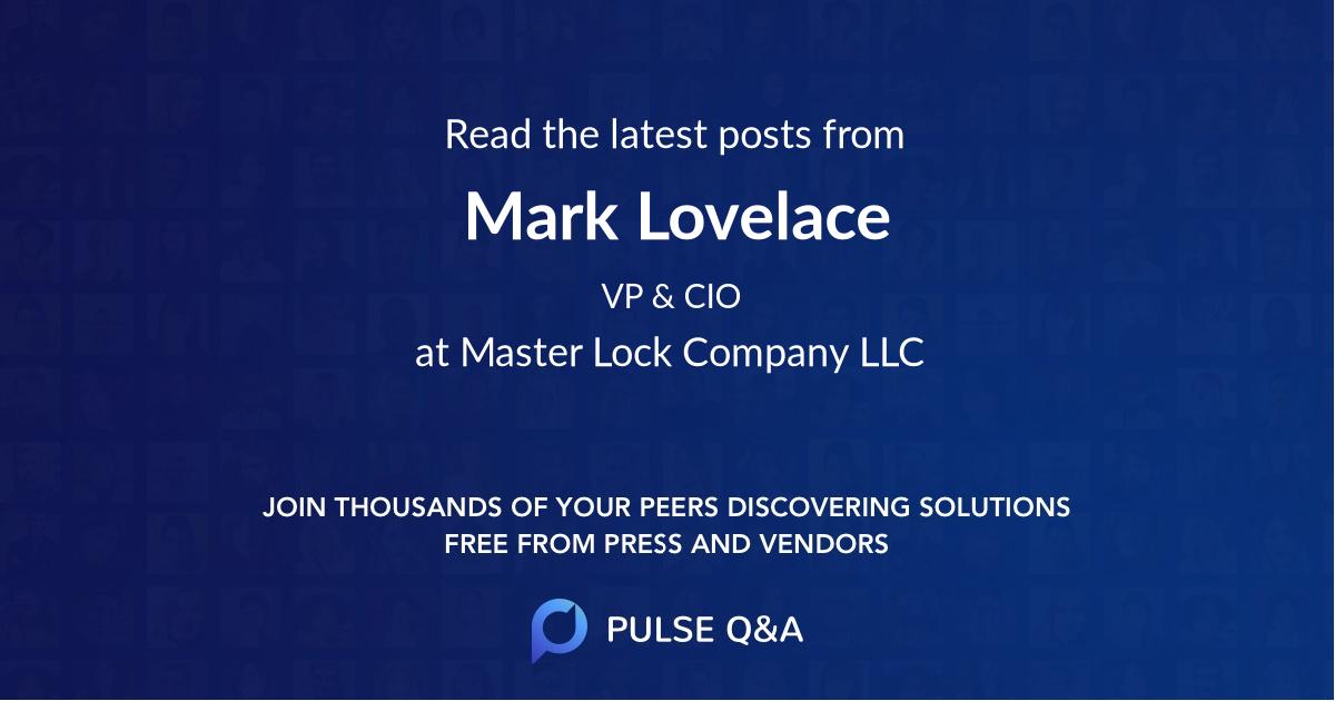 Mark Lovelace