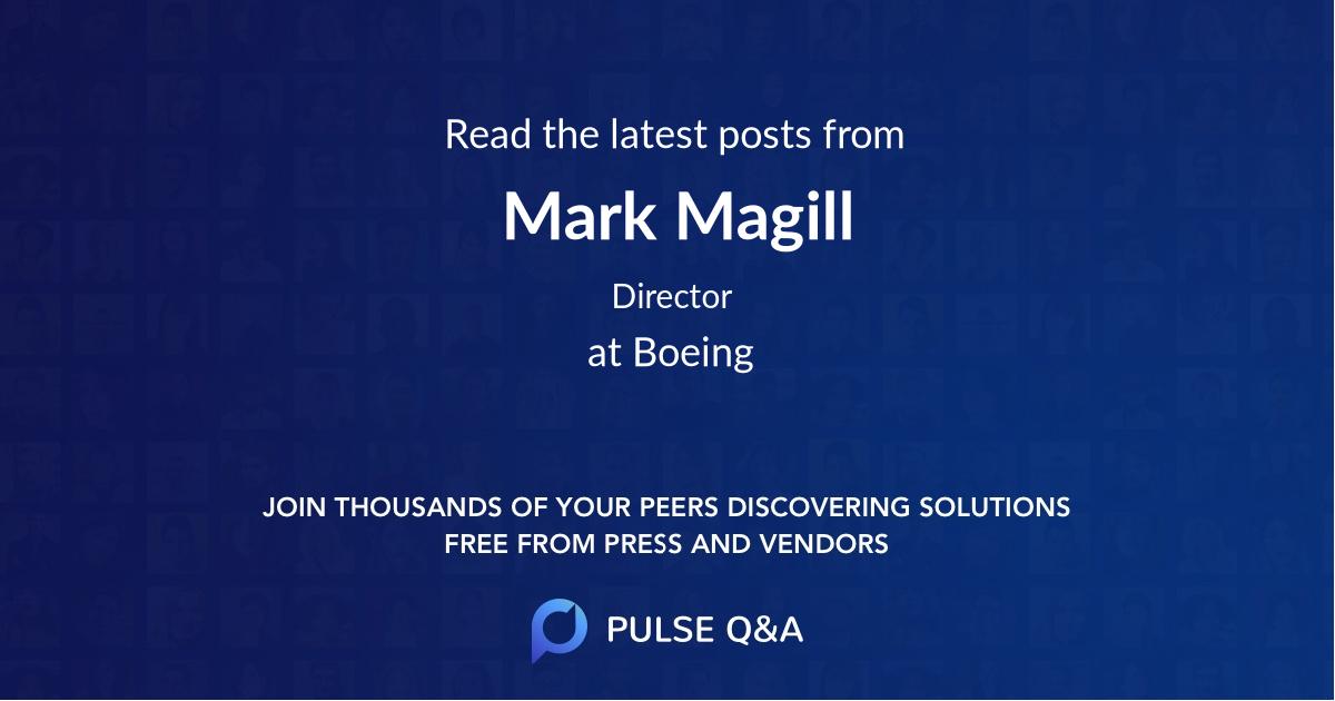 Mark Magill