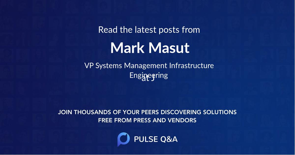 Mark Masut