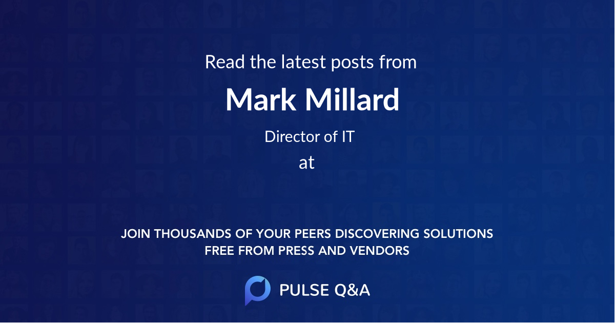Mark Millard