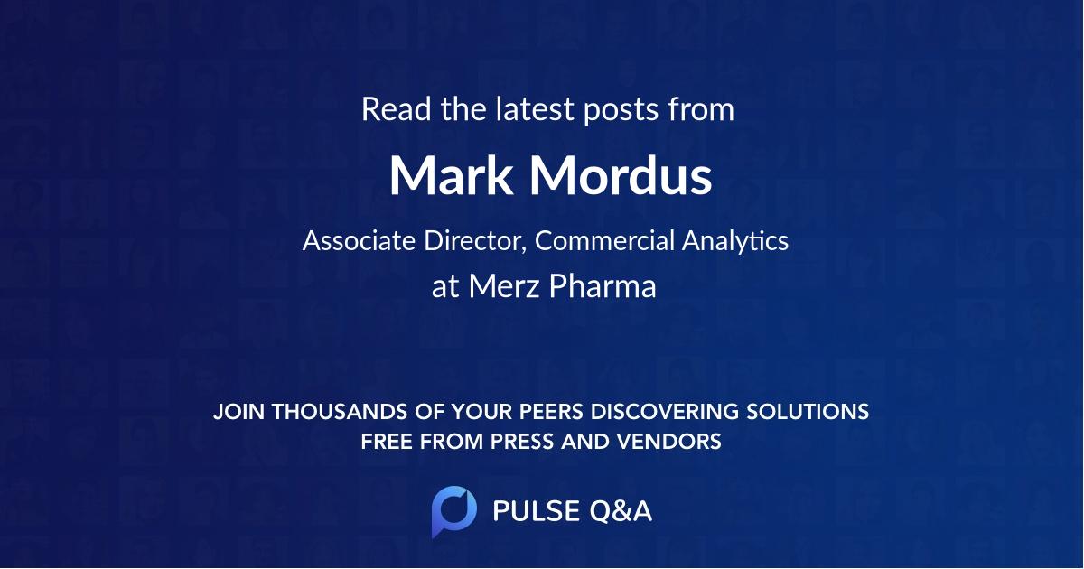 Mark Mordus